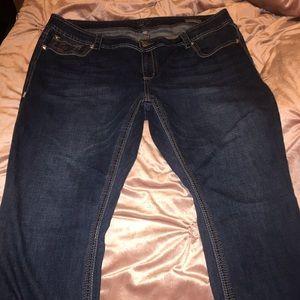Melissa McCarthy straight leg jeans
